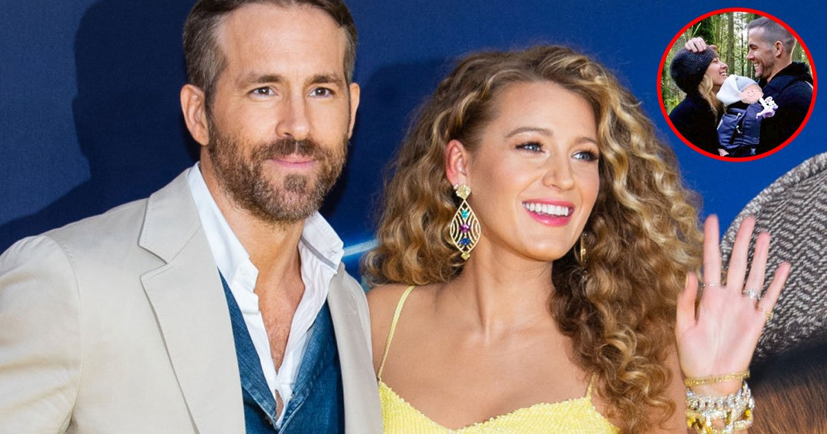 ryan reynolds shared picture of his third child with blake lively and revealed the gender of baby.jpg?resize=1200,630 - Ryan Reynolds Shared A Picture Of His Third Child With Blake Lively And Revealed - It's A Girl