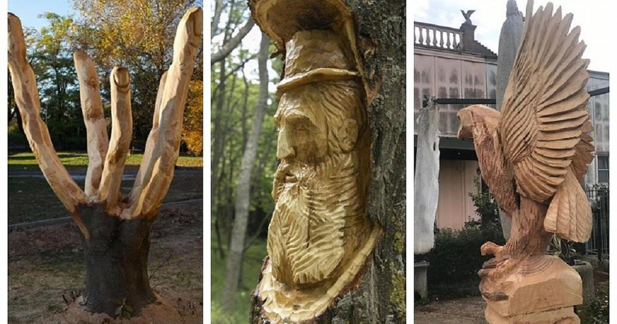 s3 13.jpg?resize=412,232 - Young Sculptor Won National Fame By Turning Tree Stumps Into Works Of Art