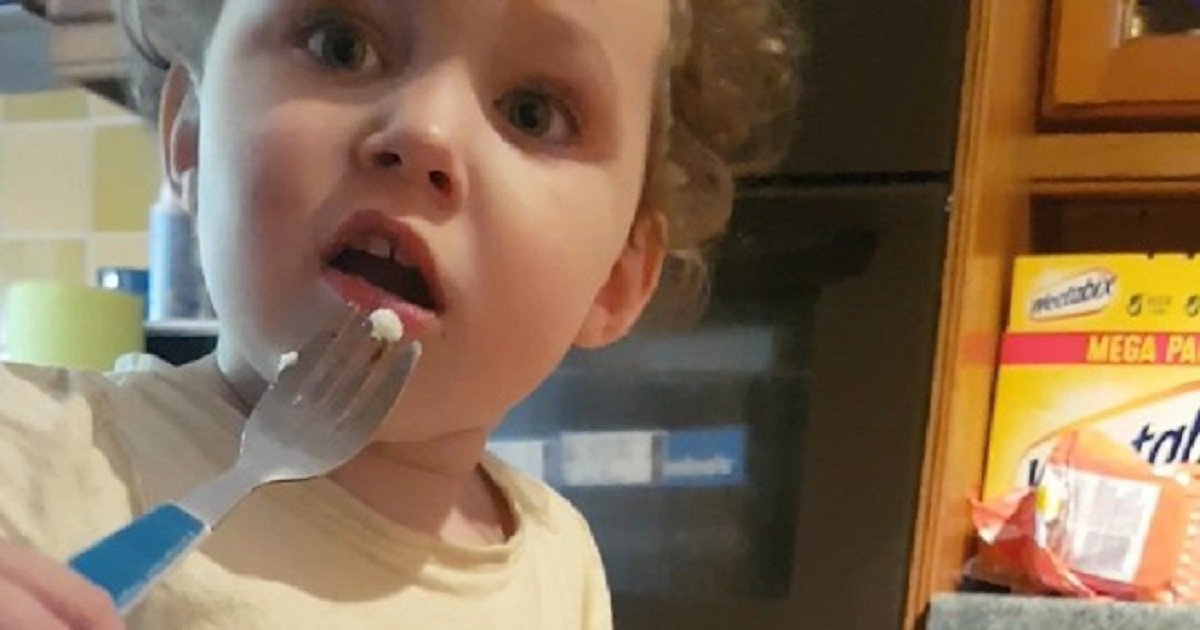 """s3 5.jpg?resize=412,232 - Toddler Exclaimed That She's """"Done"""" With Sausages After Her Dad Revealed Where They Come From"""