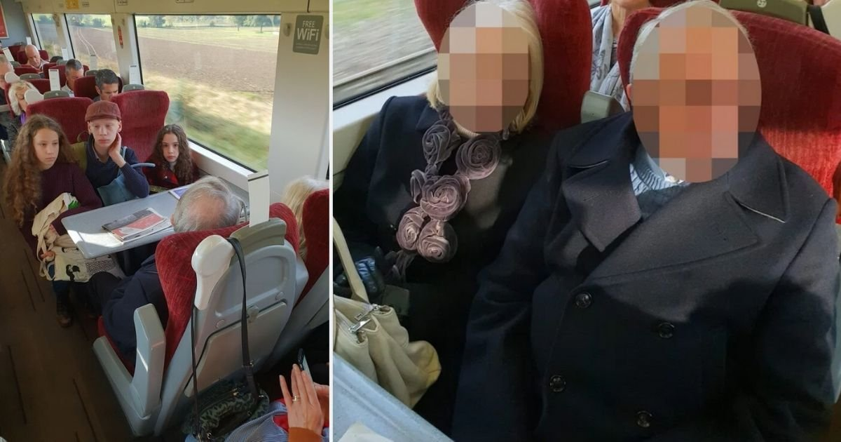 s6.jpg?resize=1200,630 - A Pregnant Mother Criticized An Elderly Couple For Not Moving From The Seats She Booked For Her Kids