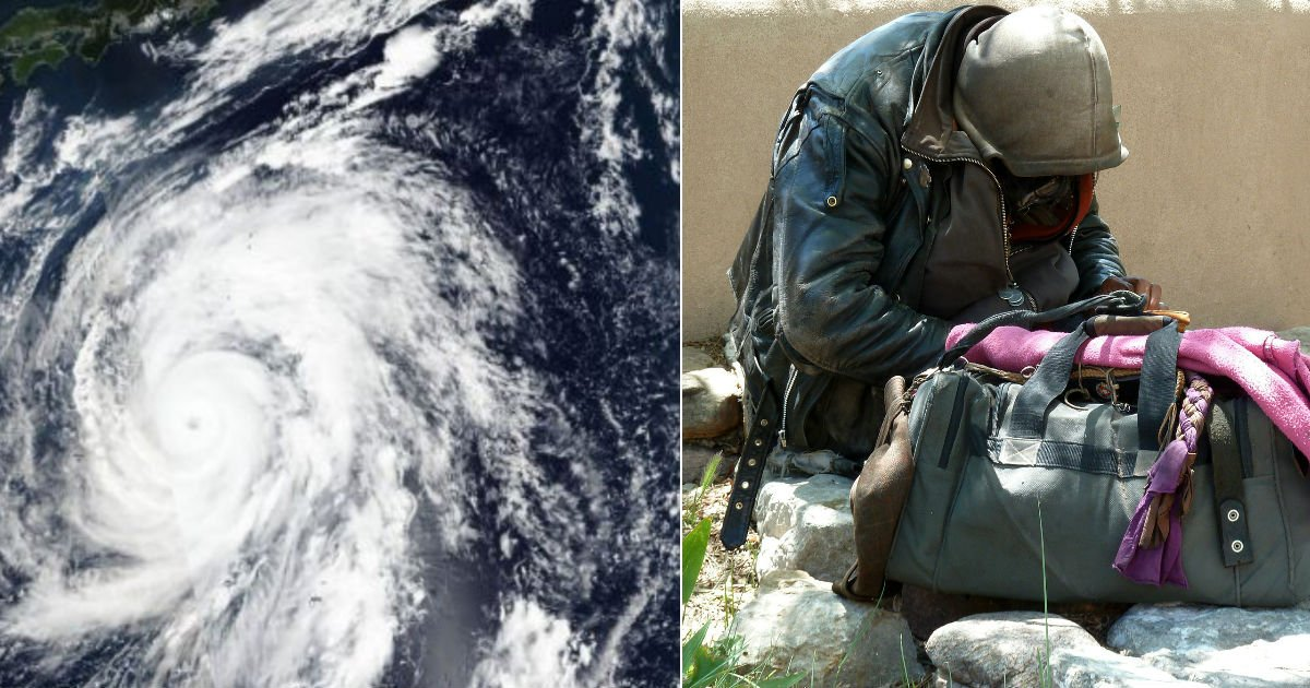 "typhoon.jpg?resize=412,232 - 일본 대피소, 태풍 속 ""노숙자는 안돼요"" 차별해 논란"