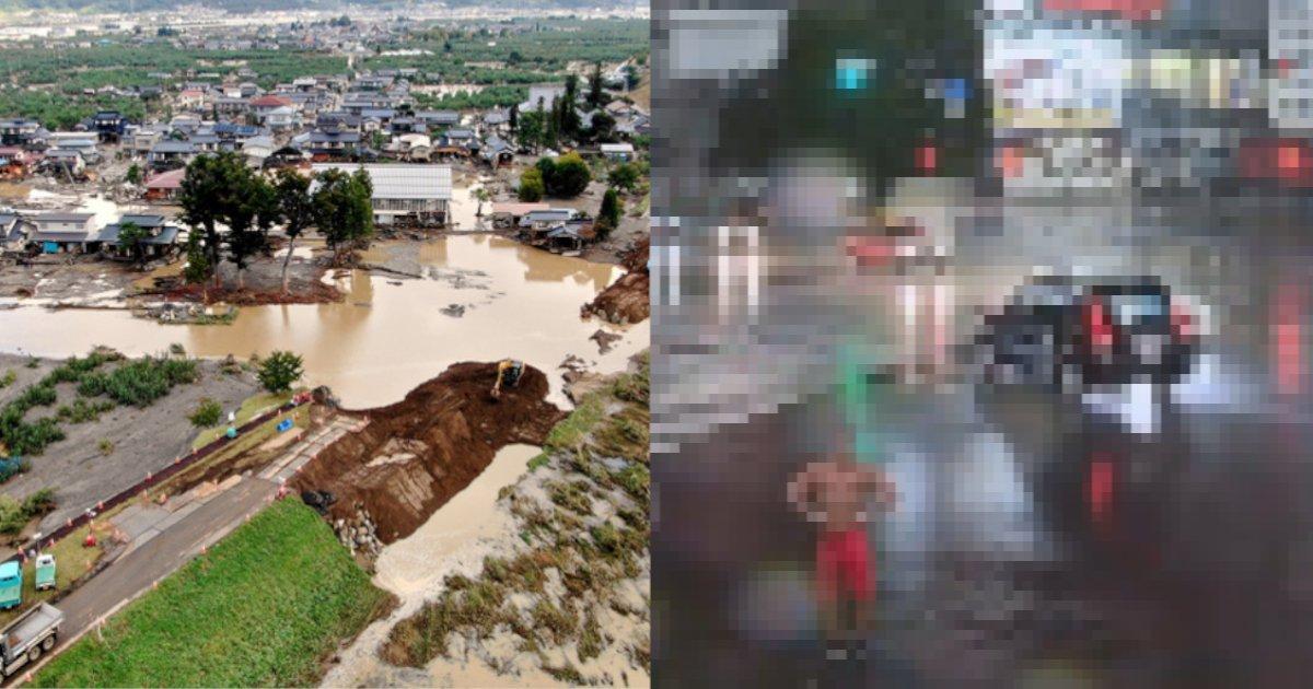 typhoon.png?resize=1200,630 - 【台風バカッター】氾濫前の多摩川で泳ぐ海パン男、豪雨の渋谷でポーズを決めるコスプレ男に直撃‼