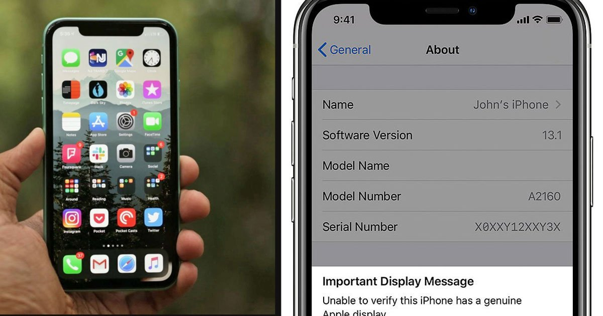 untitled 1 1.jpg?resize=1200,630 - Apple Urged iPhone11 Users Not To Replace Their Displays Using Third-Party Companies