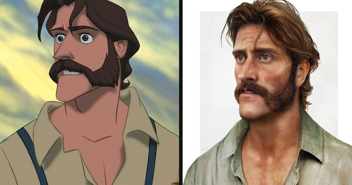 untitled 1 27.jpg?resize=1200,630 - An Amazing Artist Turned Disney Father Figures Into Realistic People