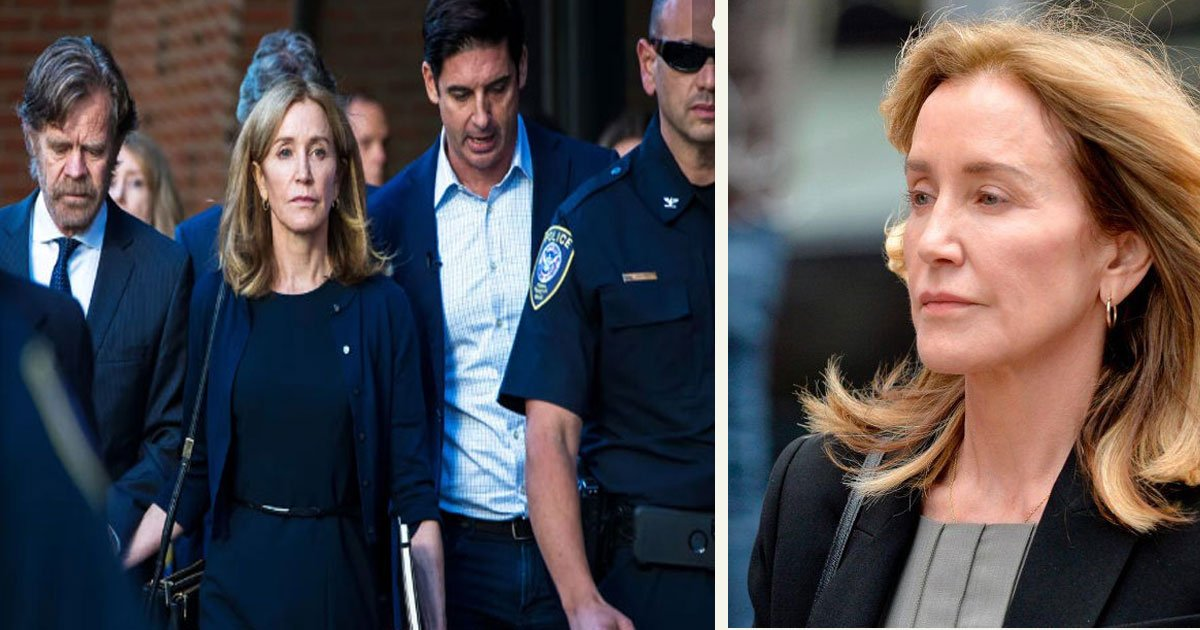 untitled 1 64.jpg?resize=412,232 - Felicity Huffman Reported To Prison To Serve Her 14-Day College Admissions Scandal Sentence