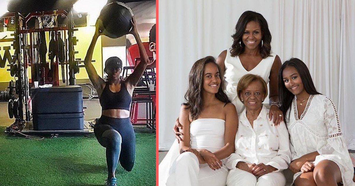 untitled design 1 16.png?resize=1200,630 - Michelle Obama publie une photo pour inciter les femmes à faire plus de sport