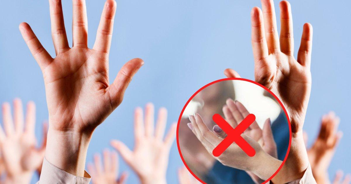 untitled design 2019 10 24t164024 009.png?resize=412,275 - Des étudiants ont demandé d'interdire les applaudissements, car cela pourrait potentiellement provoquer de l'anxiété chez certains de leurs camarades