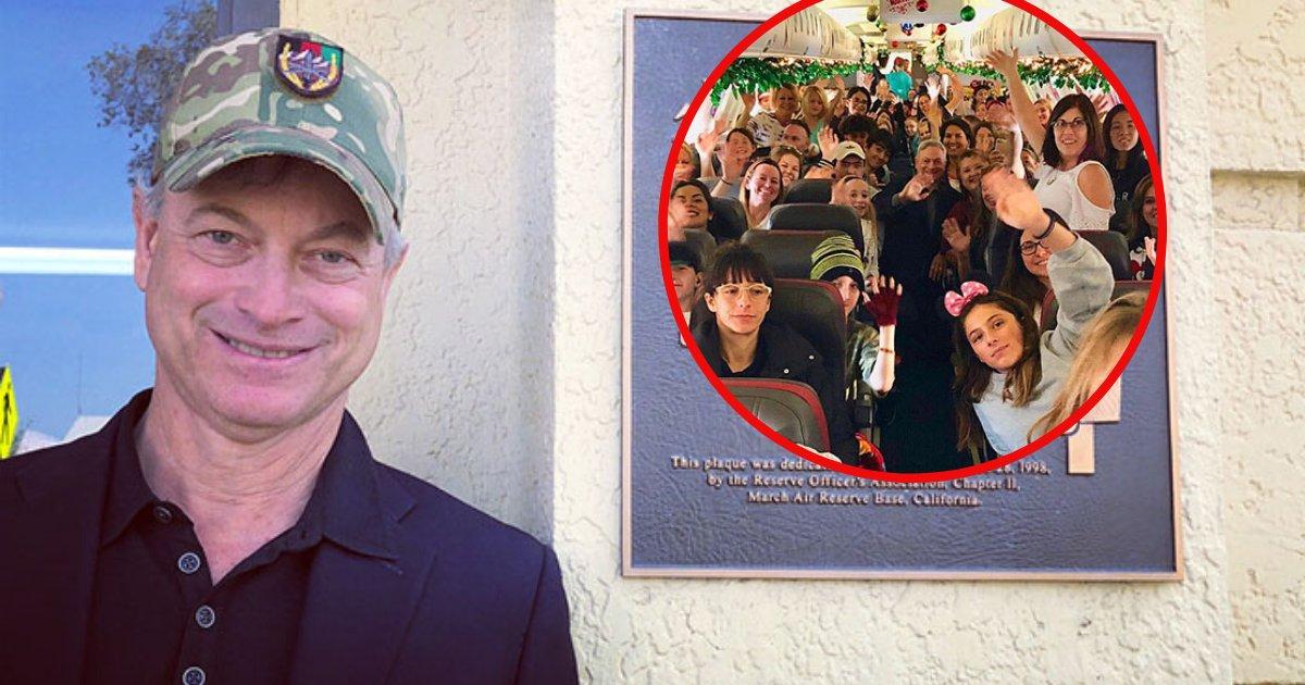 untitled design 34 1.png?resize=300,169 - L'acteur Gary Sinise a invité près de 2 000 enfants de soldats morts au combat à un voyage à Disneyland