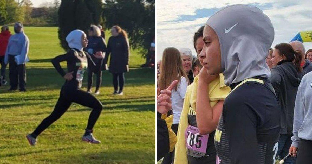 untitled design 4 1.png?resize=412,232 - Une étudiante musulmane de 16 ans disqualifiée d'une course à cause de son voile