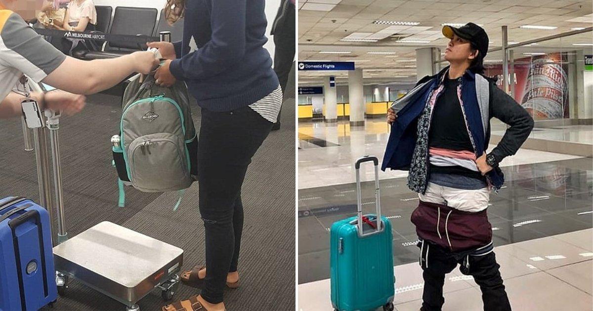untitled design 78 1.png?resize=1200,630 - La passagère d'un vol portait tous ses vêtements sur elle pour éviter de payer l'excédent bagage