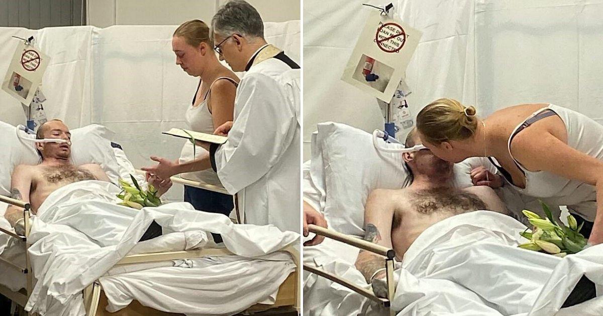 untitled design 8 1.png?resize=412,232 - Il réalise son ultime souhait en se mariant avec l'amour de sa vie à l'hôpital