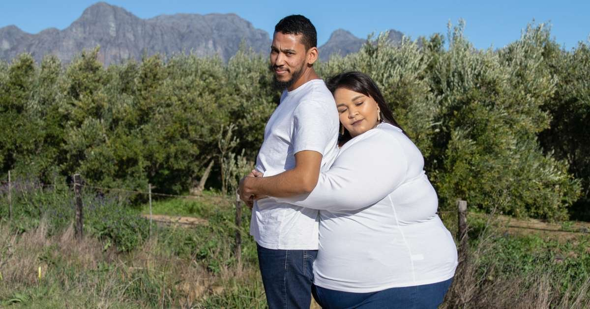 "w3 5.jpg?resize=412,232 - A Couple Stood Up To The People Who Questioned Their Weight Gap: ""My Husband Is Not A Chubby Chaser"""