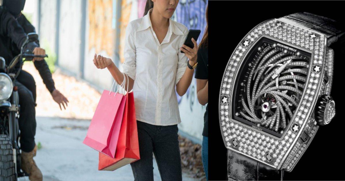 watch.png?resize=1200,630 - 9000万円相当の時計奪われる‼ 30歳男性、一服中に…