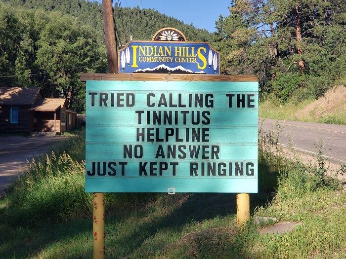 Indian Hills Community Sign