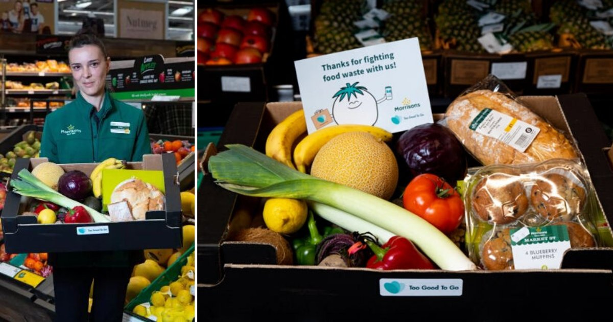 2 27.png?resize=1200,630 - Unsold Food Boxes To Be Sold for £3.09 by Morrisons to Reduce Waste