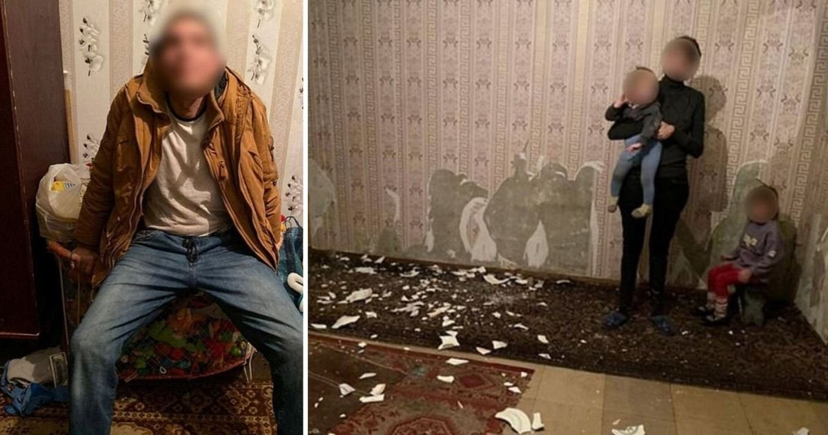 5 88.jpg?resize=1200,630 - Two Ukranian Girls Were Rescued From The House Where They Ate Wallpaper In Hunger