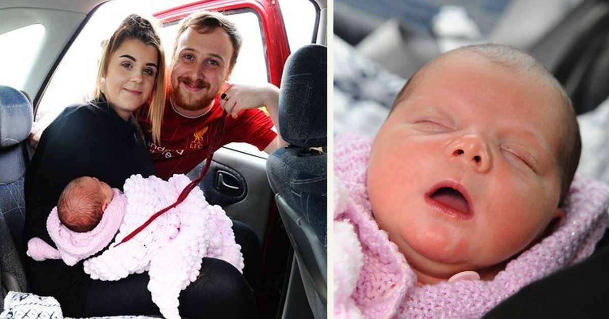 56.jpg?resize=1200,630 - Hero Dad Saved Baby Girl's Life With A Shoelace As Mom Gave Birth In The Back Seat Of The Car