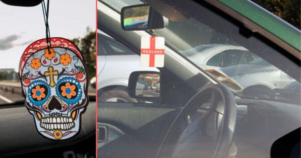 6 11.png?resize=412,232 - You Could Potentially Be Fined £1,000 For Dangling An Air Freshener In Your Rear View Mirror