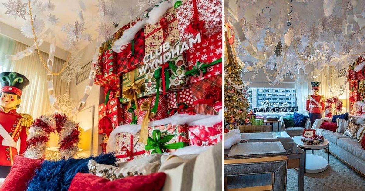 6 52.jpg?resize=1200,630 - Un hôtel de New York a ouvert une suite sur le thème de Elfe pour le temps des fêtes