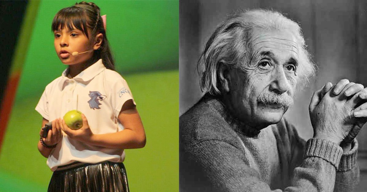 8 year old girl bullied and tagged weird at school has higher iq than einstein.jpg?resize=300,169 - An 8-Year-Old Girl Has An IQ Higher Than Both Albert Einstein And Stephen Hawking
