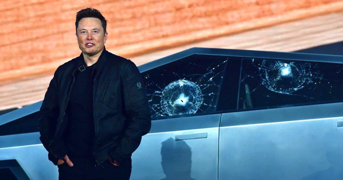 a 103.jpg?resize=412,232 - Lors de la présentation du nouveau Cybertruck de Tesla, les vitres de la voiture ont été brisées