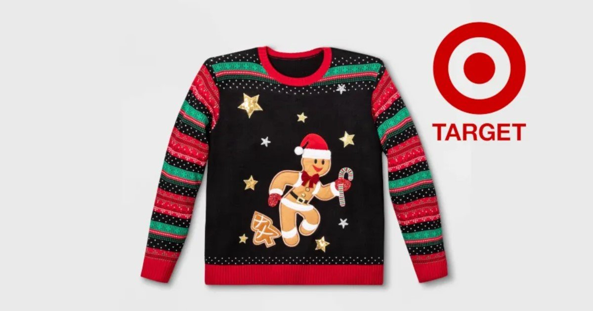 a 55.jpg?resize=412,232 - Target Introduced 'Gender-Inclusive Gingerbread' Christmas Sweater