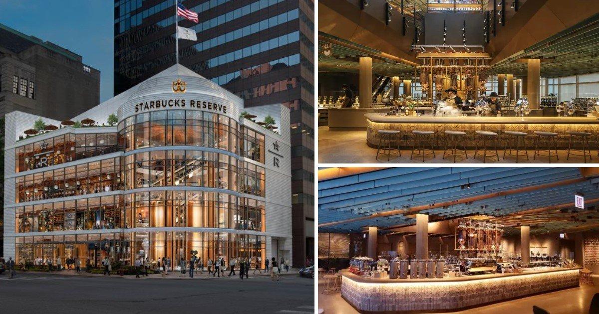 a 73.jpg?resize=412,232 - Starbucks Opened Their Largest 'Starbucks Reserve' In Chicago