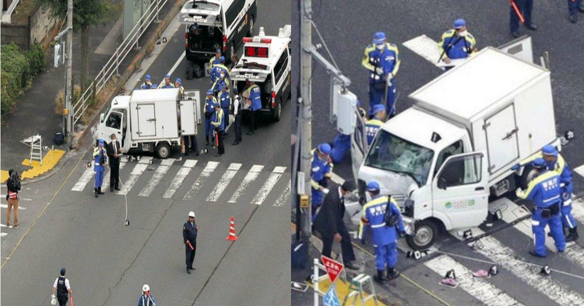 aa 8.jpg?resize=300,169 - 【東京】保育園児の列に車突っ込む…軽トラ運転の60代男を現行犯逮捕