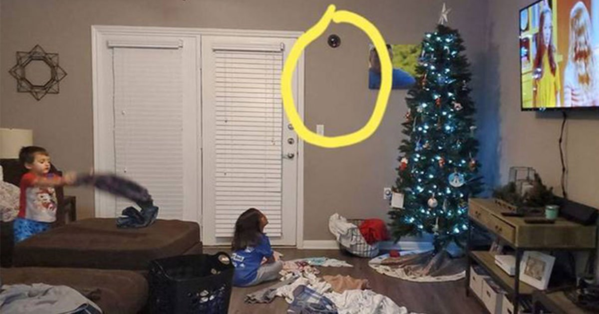 an ingenious mom installed fake cctv camera to make her kids behave themselves during christmas.jpg?resize=1200,630 - An Ingenious Mom Installed Fake CCTV Camera To Make Her Kids Behave Before Christmas