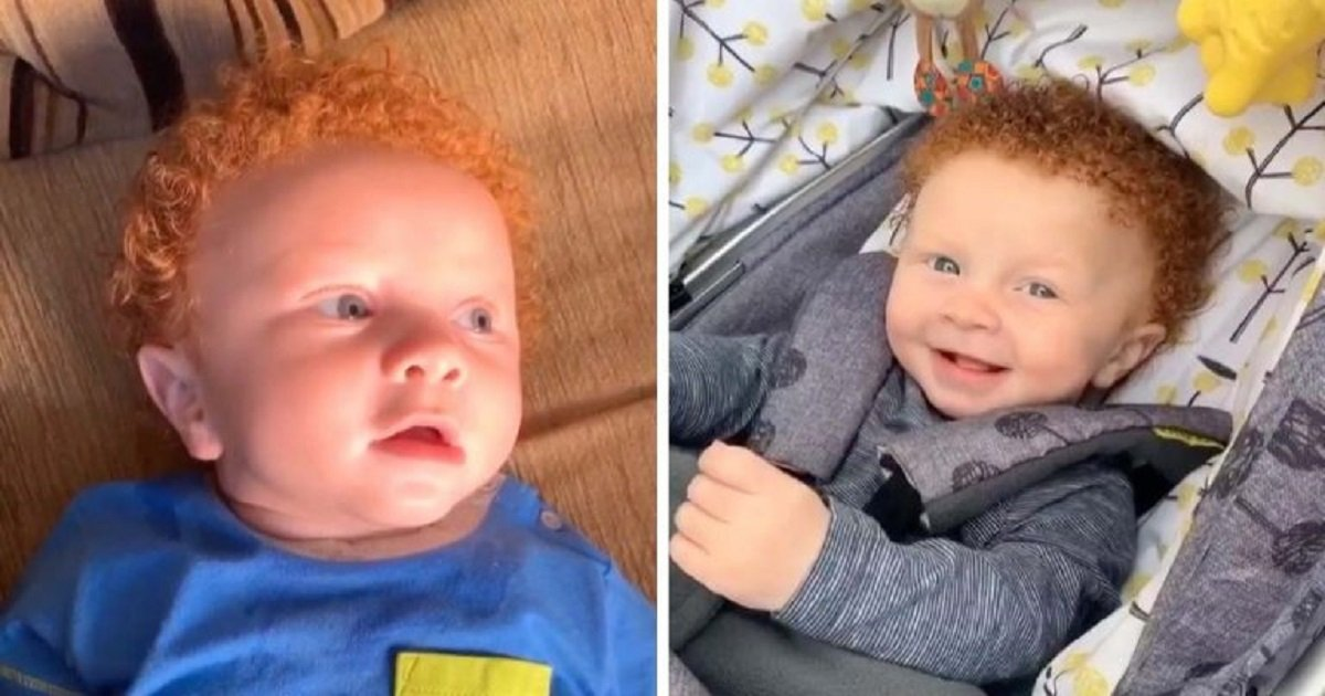 """b3 5.jpg?resize=412,275 - Strangers Ask If The Kid Was """"Swapped At Birth"""" Because The Baby Looks Completely Different From His Parents"""
