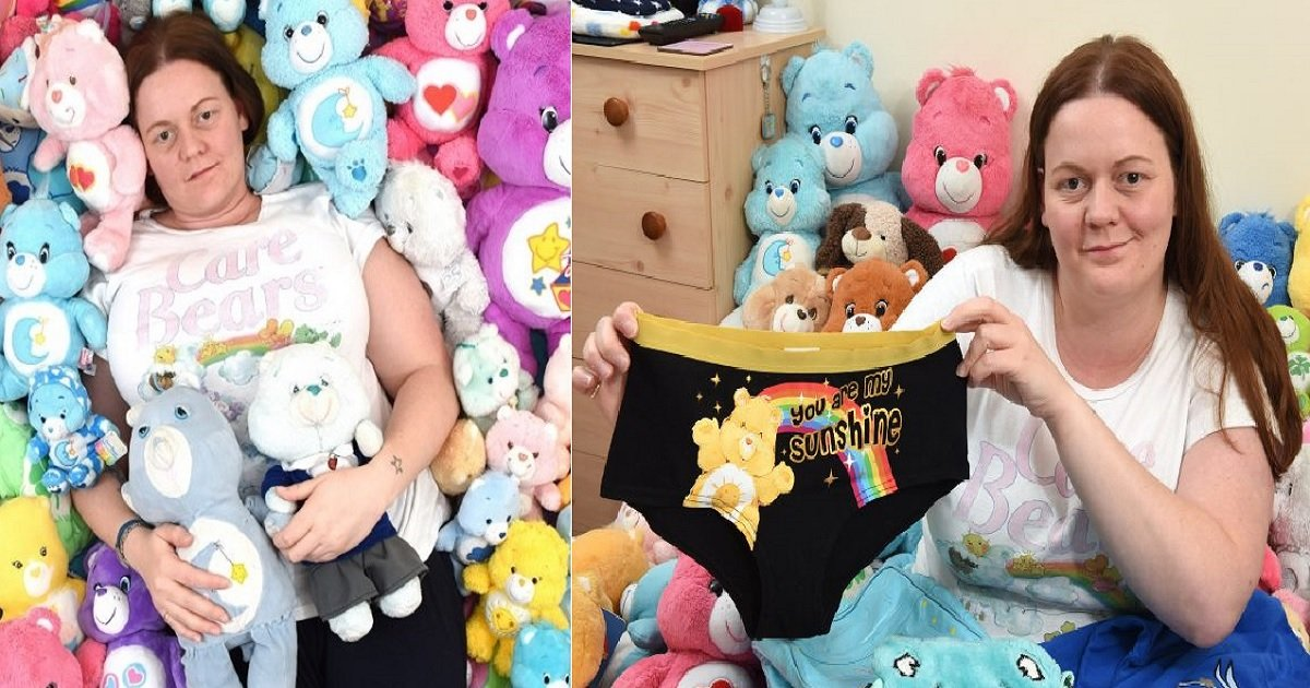 b5.jpg?resize=412,232 - A Woman Found Comfort Through Her Extensive Care Bear Collection