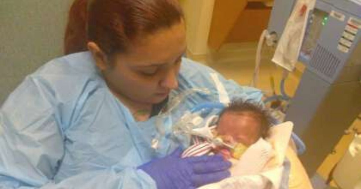 babygray.png?resize=412,232 - Baby Born Without Skin Is Finally Home After Staying In Hospital For 11 Months