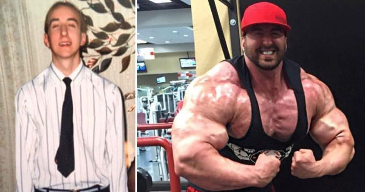 bodybuilder who weighed 10 stone.jpg?resize=1200,630 - Bodybuilder - Who Once Weighed 10 Stone - Now Weighs 25 Stone After He Started Training Six Days A Week