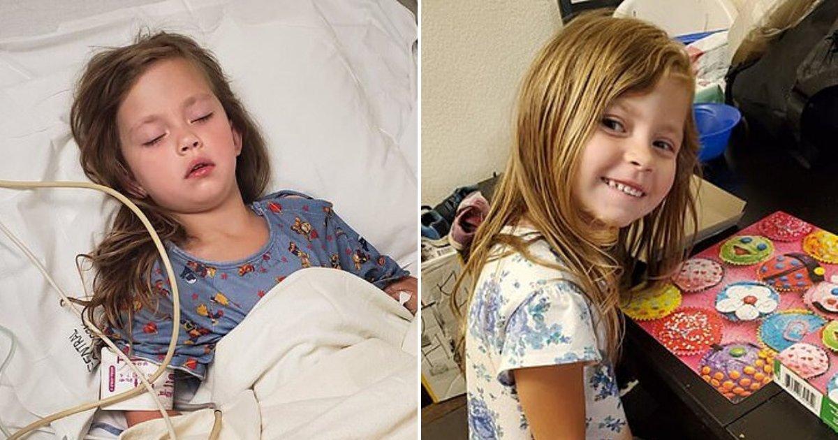 celeste6.png?resize=1200,630 - Une fillette de 5 ans s'est trouée la gorge après être tombée avec sa brosse à dents dans la bouche en jouant sur son lit