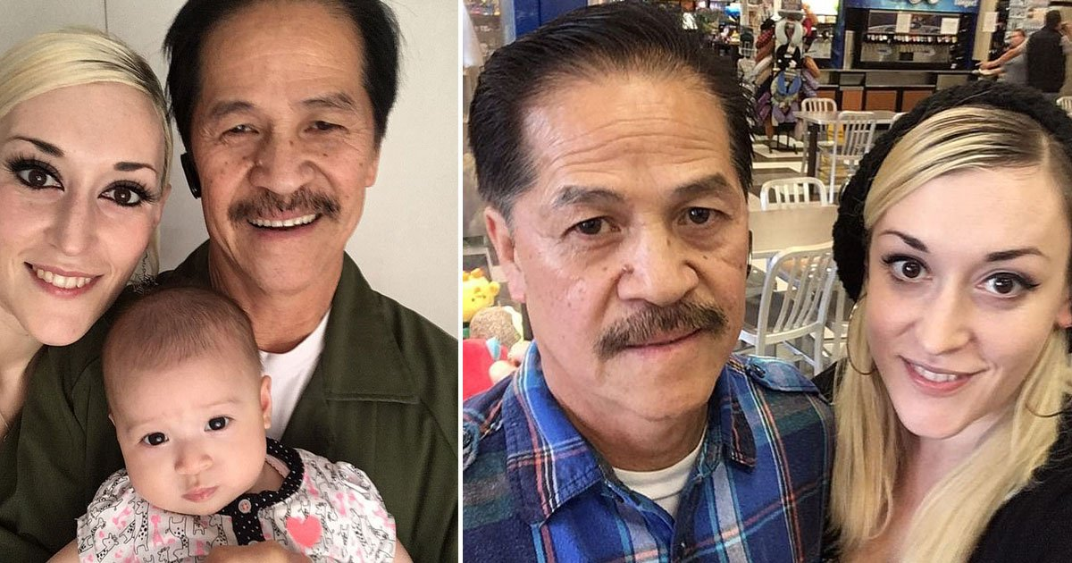 couple with age gap.jpg?resize=1200,630 - 31-Year-Old Woman Revealed People Assume Her Husband Is Her Daughter's Granddad