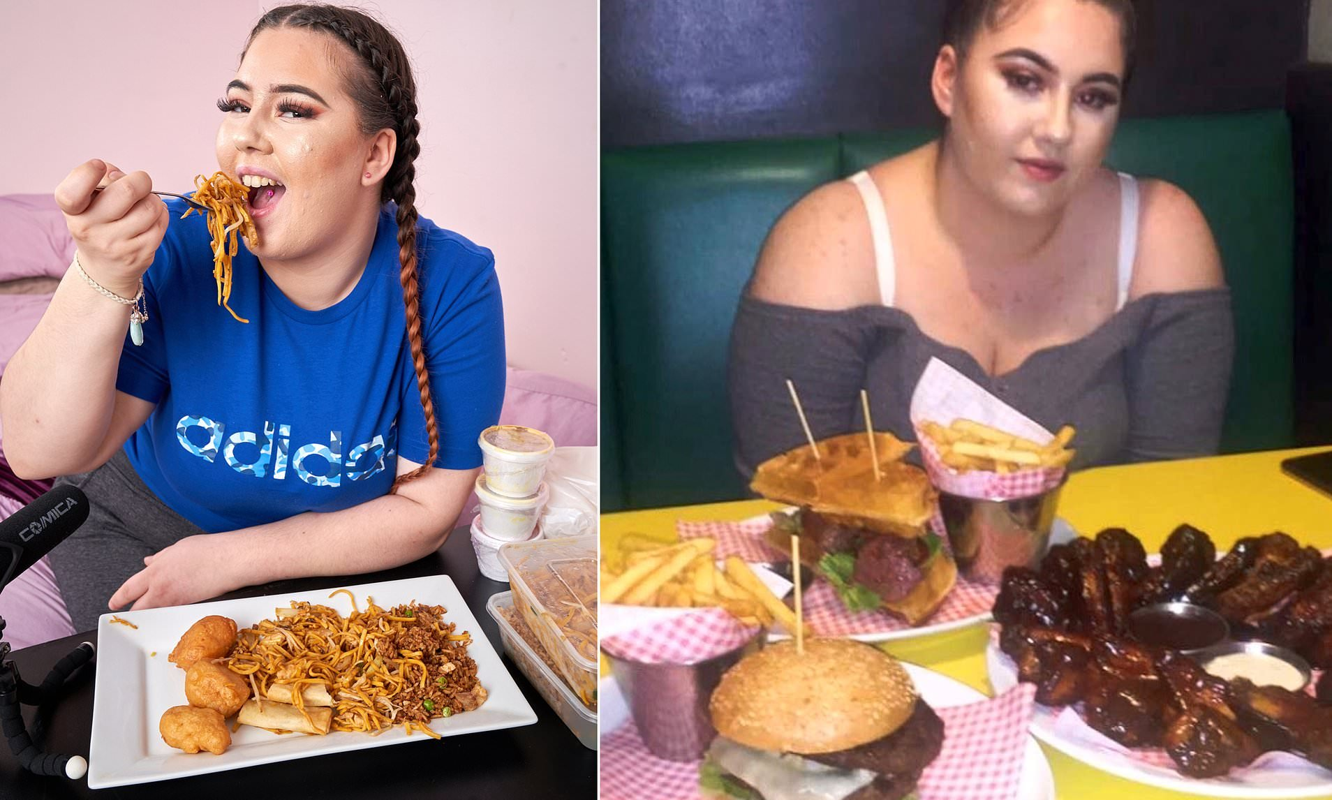e3.jpg?resize=1200,630 - A Woman Eats 5,000-Calorie Meals In Hopes To Becoming A Youtube Star