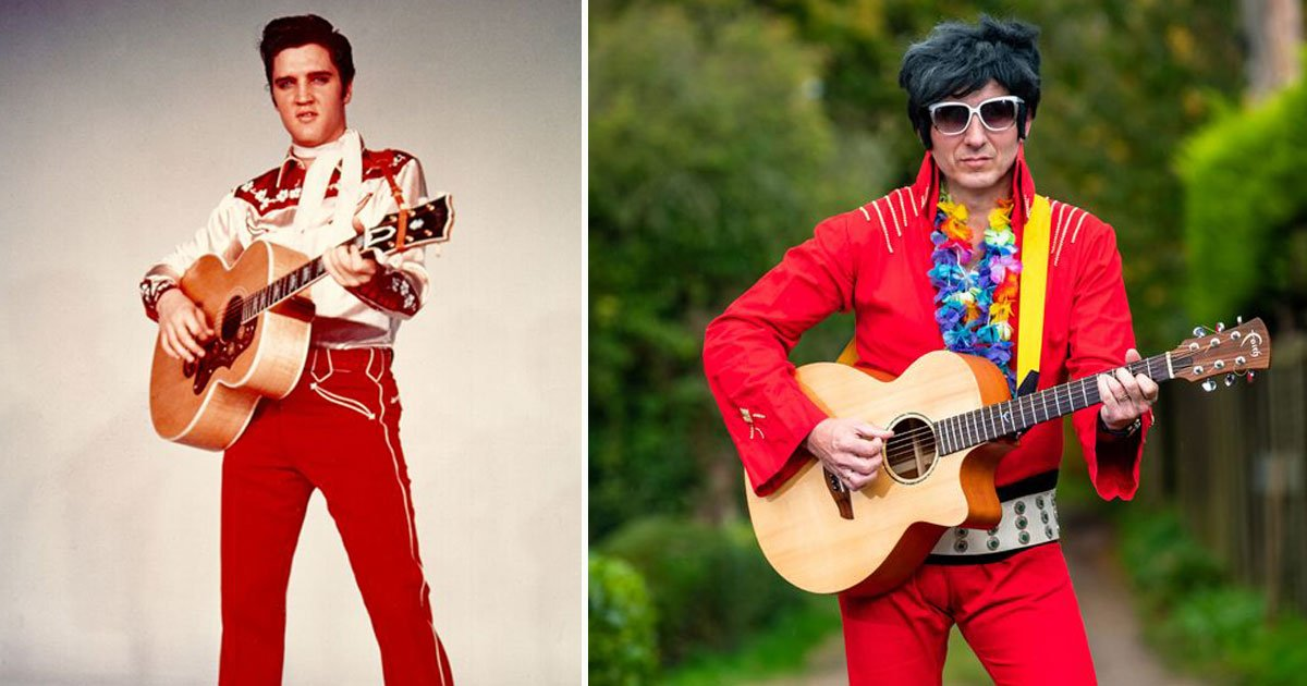 elvis presley impersonator contest tribute.jpg?resize=412,232 - Elvis Presley Impersonator Banned From Tribute Contest For Being Too Comical