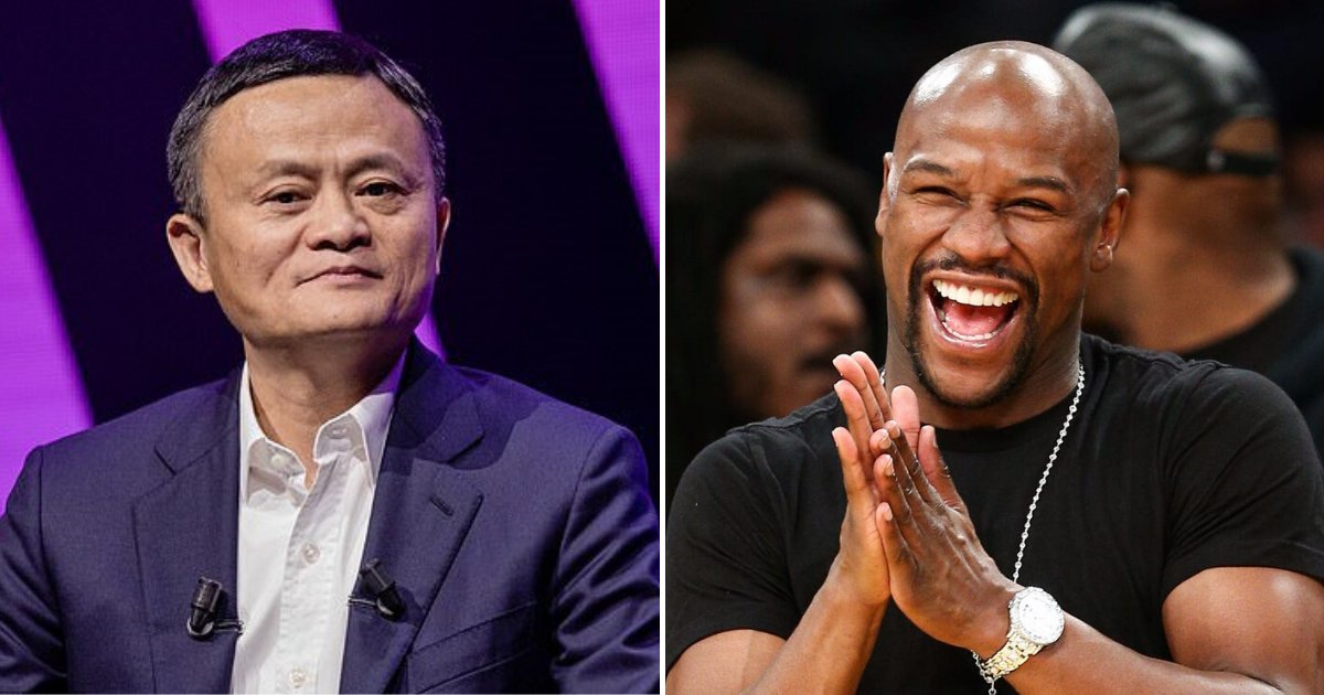 floyd3.png?resize=412,232 - China's Richest Man Jack Ma Wants To Fight Former Boxing World Champion Floyd Mayweather