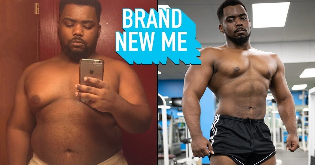 g3 2.jpg?resize=412,232 - This Man Went From Being Obese To Bench Pressing His Former Weight - Without A Trainer Or A Fitness Plan