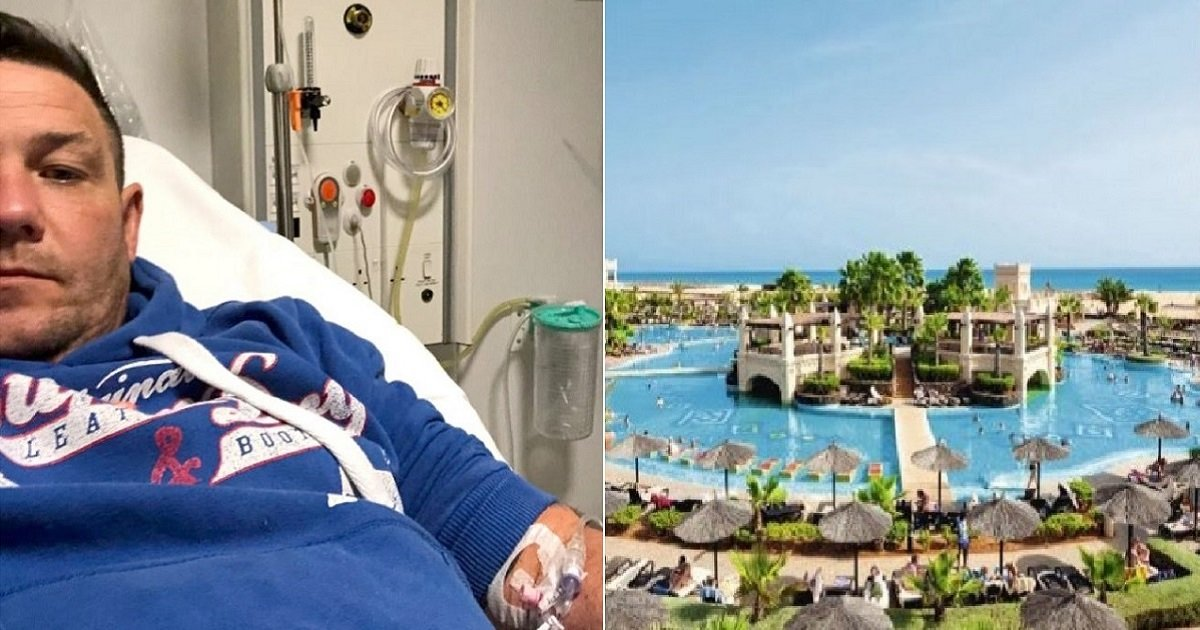 h4.jpg?resize=412,232 - Luxury Getaway Trip Turned Into A Nightmare As Man Fell Ill And Was Hospitalized After Eating Food From The Hotel