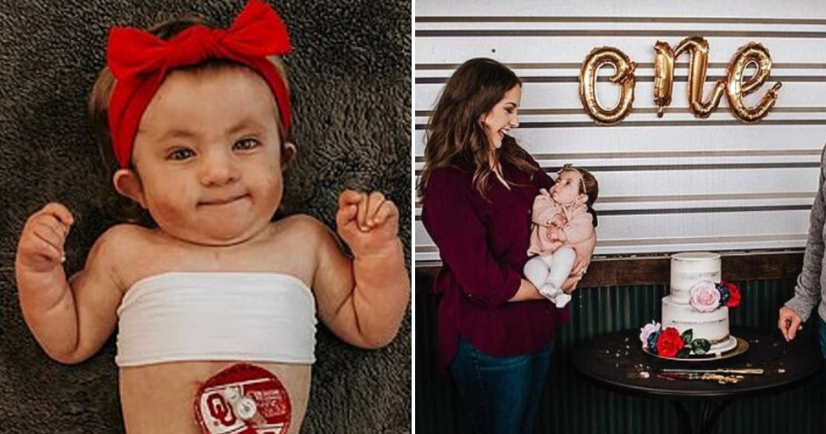 harper7.png?resize=412,232 - Baby Girl Given Only 5 Percent Chance Of Survival Celebrates First Birthday