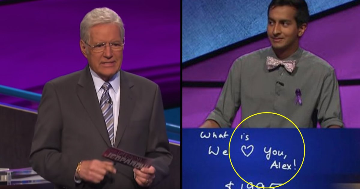 """hhdsg.jpg?resize=412,232 - A Contestant's Message """"We Love You, Alex!"""" For """"Jeopardy"""" Host Has Gone Emotional"""