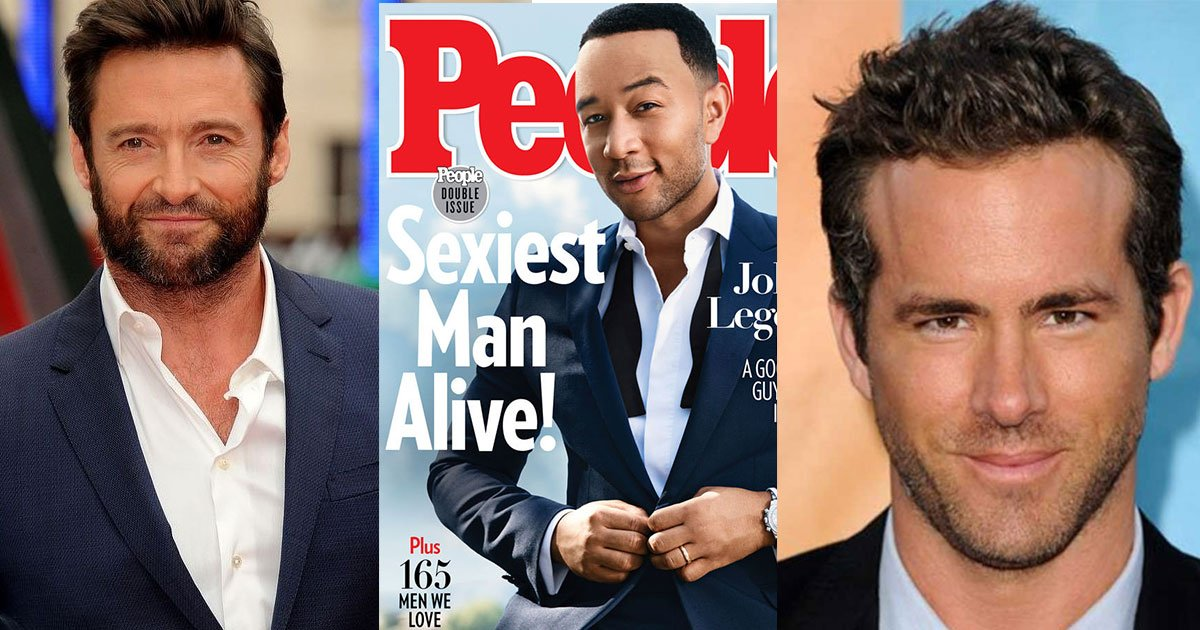 hugh jackman congratulated john legend on sexiest man alive and took a funny dig at ryan reynolds.jpg?resize=412,232 - Hugh Jackman Congratulated John Legend For Becoming The Hottest Man And Took A Funny Dig At Ryan Reynolds