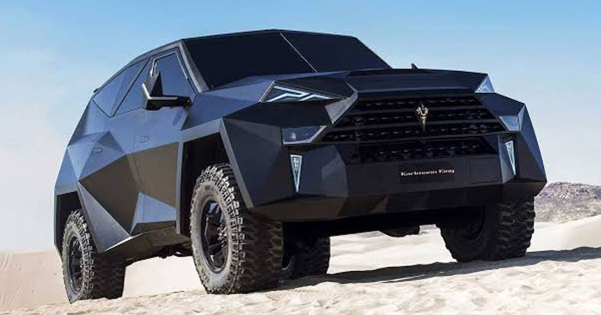 karlmann king.jpg?resize=412,232 - The World's Most Expensive SUV That Costs $1 Million