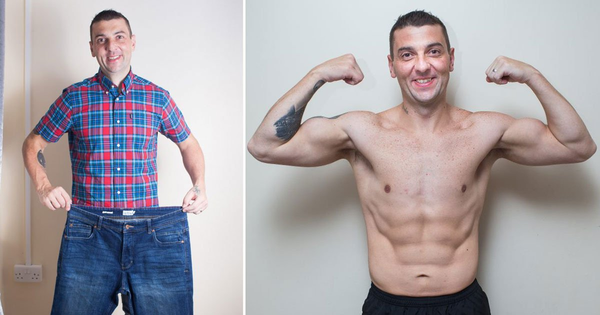 man lose 5 stone keto diet.jpg?resize=412,232 - Dad-Of-Four Lost Five Stone In Just 10 Months After Taking Up The Keto Diet