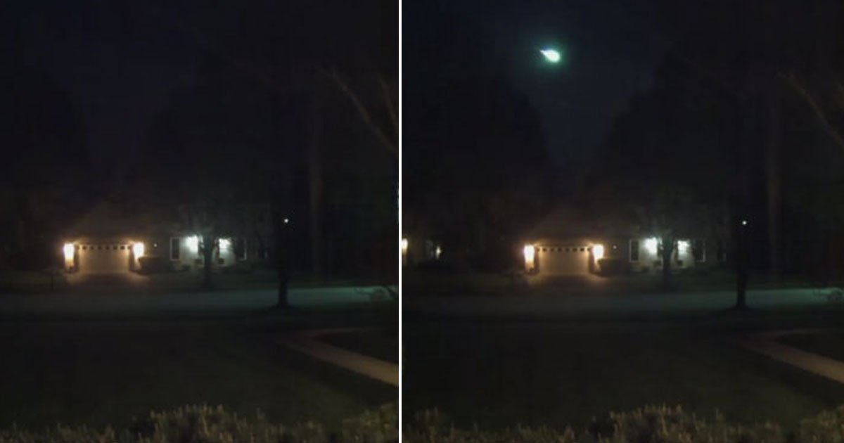 mateor spotted.jpg?resize=412,232 - Mysterious Meteor Spotted Over Chicago