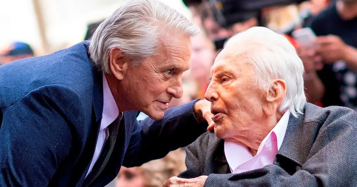 michael douglas revealed his father begged him not to throw a big party for his 103rd birthday.jpg?resize=412,232 - Michael Douglas Revealed His Father Begged Him Not To Throw A Big Party For His 103rd Birthday