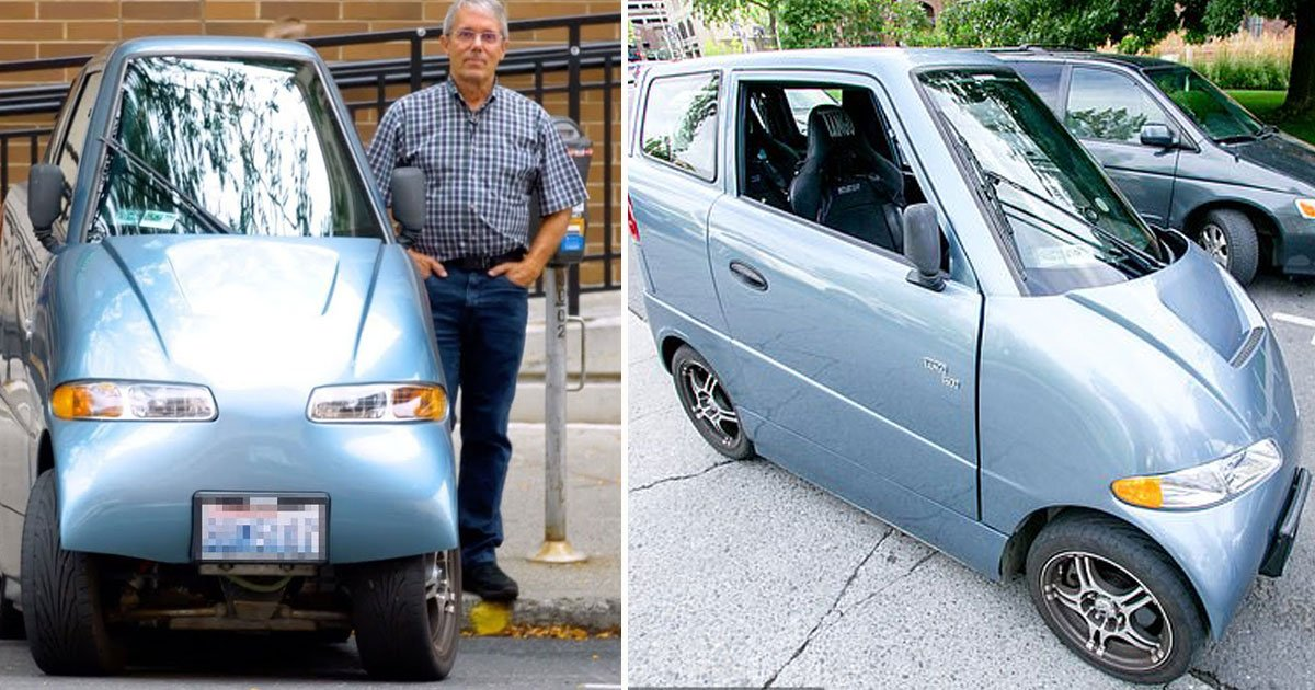 Man Created Tiny Electric Car To Solve The World's Traffic ...