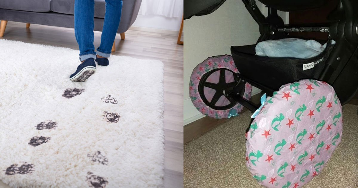 moms genius 1 trick to save your carpets from muddy pushchair wheels is winning the internet.jpg?resize=412,232 - Mom's Genius $1 Trick To Save Carpets From Muddy Wheels
