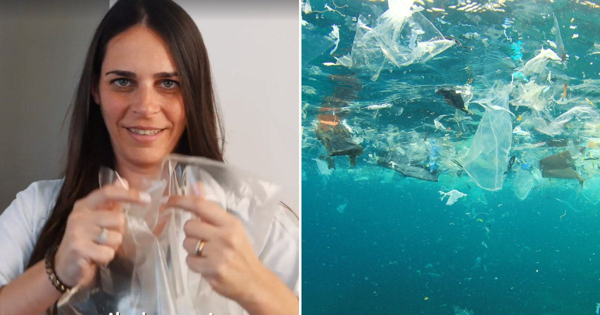 plastic4.png?resize=1200,630 - Woman Invented A New Type Of Plastic That Biodegrades In Water Within Minutes